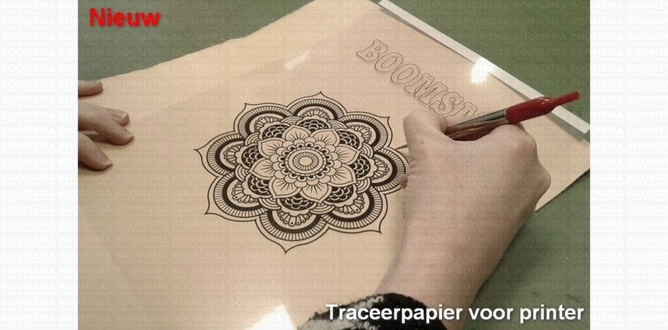 810.31trace Traceerpapier voor printer slideshow