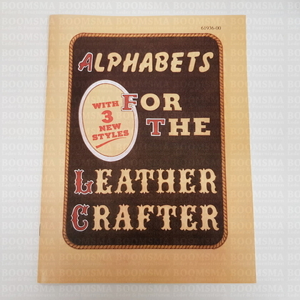 Alphabets for the Leather Crafter 47 pagina's (Taal Engels) - afb. 1