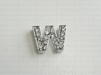 Bling letters W - afb. 1