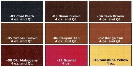 Leather dye - afb. 3