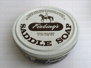 Fiebing's Saddle soap of zadelzeep kleurloos - afb. 1