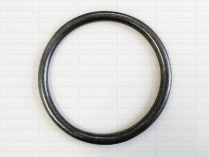 Ring rond (dicht) ofwel O-ring donkerbrons - afb. 3