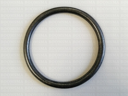 Ring rond (dicht) ofwel O-ring donkerbrons 80 mm × Ø 7 mm  - afb. 2