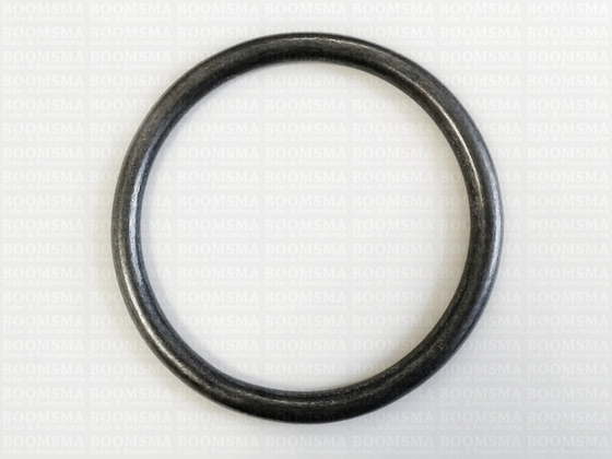 Ring rond (dicht) ofwel O-ring donkerbrons - afb. 2